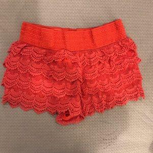 Jolt Shorts - Jolt lace shorts sz XL